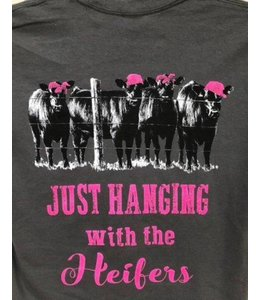 COUNTRY LIFE T-SHIRT HANGING WITH MY HEIFERS