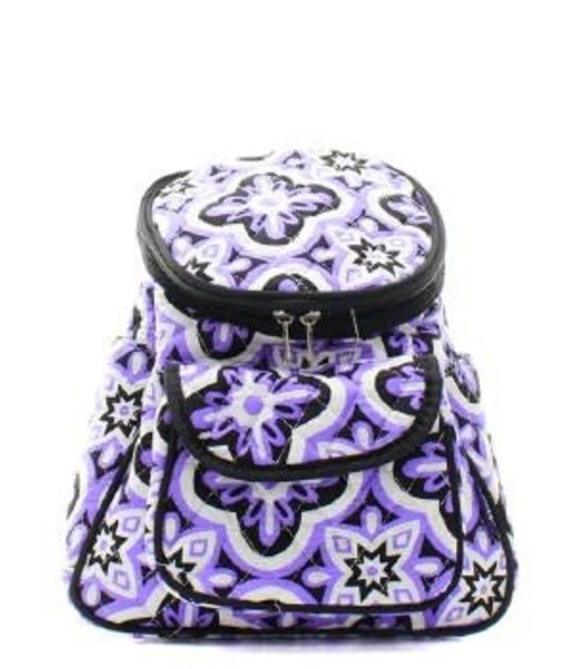 NGIL BACKPACK SMALL QUILTED PURPLE VINE POL 286
