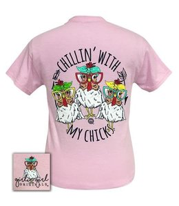 GIRLIE GIRL ORIGINALS T-SHIRT MY CHICKS GIRLIE GIRL