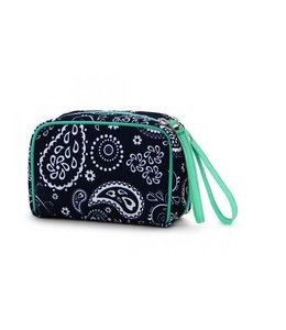 RAINBOW GIFTS INC WRISTLET COSMETIC BAG K320