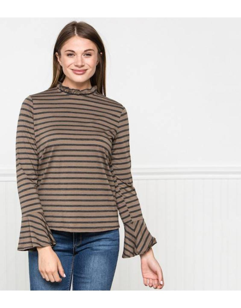 Downeast Forever Stripe Top