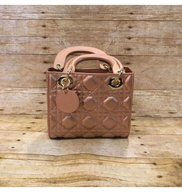 Mini Rose Gold Handbag