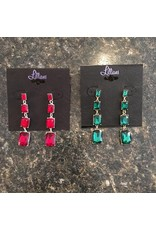 Dangle Gem Earrings