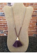 Fan Tassel Necklace
