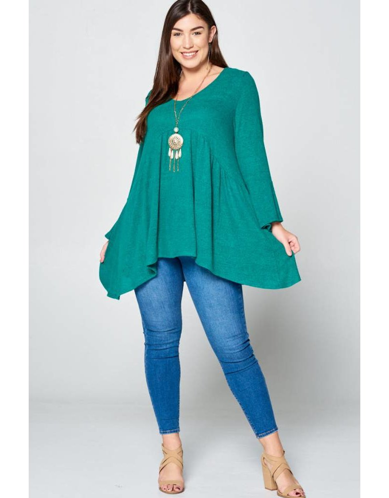 Emerald Bell Top