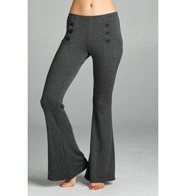 Decorative Button Pants