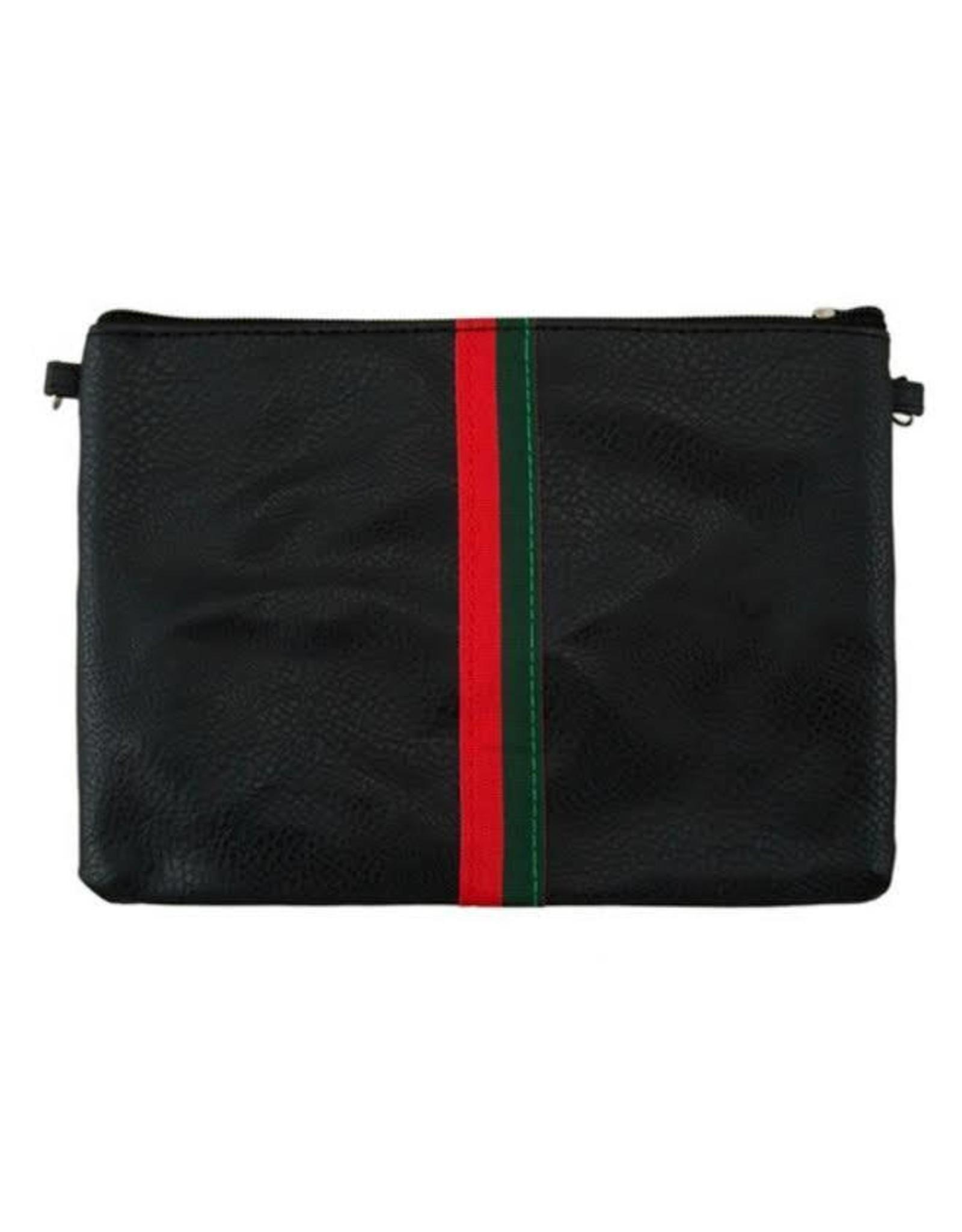 Stripe Crossbody Bag
