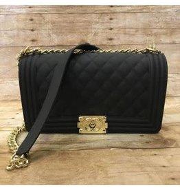Large Gold Chain Handbag
