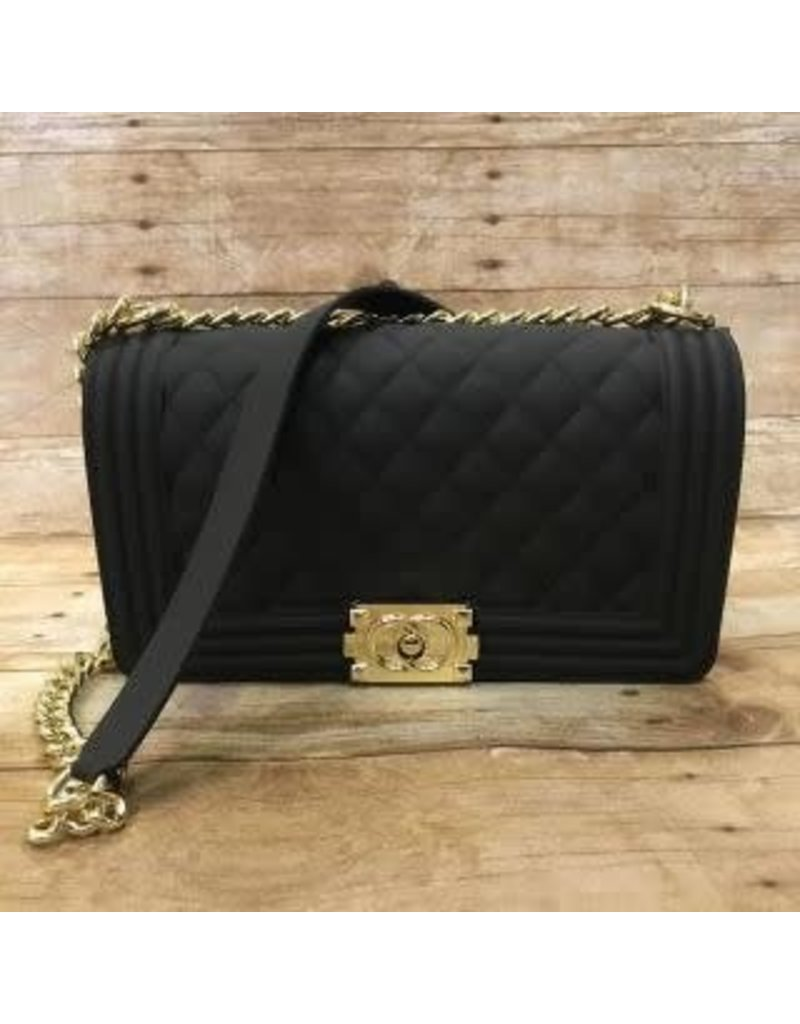 Large Gold Chain Handbag