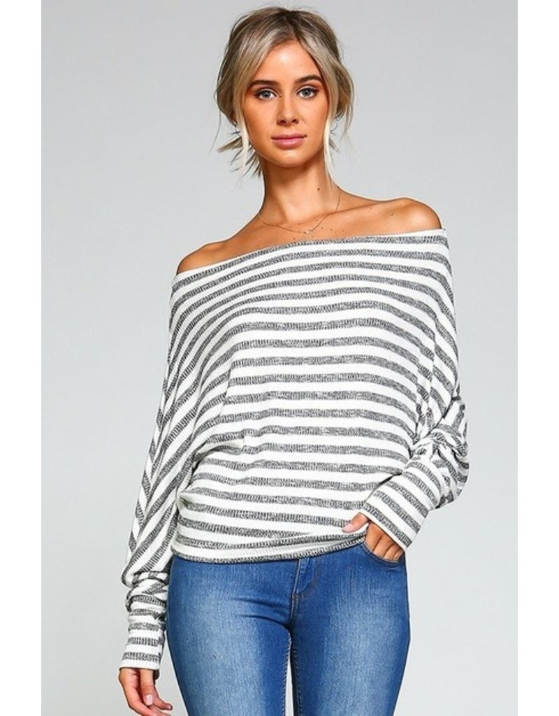 Striking Stripe Top