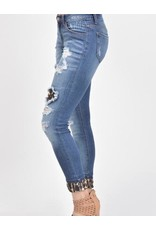 Super Skinny Jean Animal Print