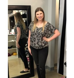 Animal Print Trish Top