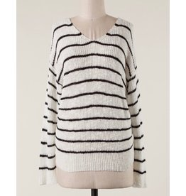 LATA Knot Back Sweater