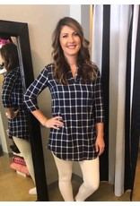Cosby Flannel Dress