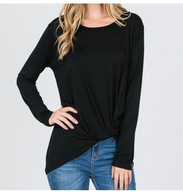 LATA Emma's Long Sleeve Twist Tee