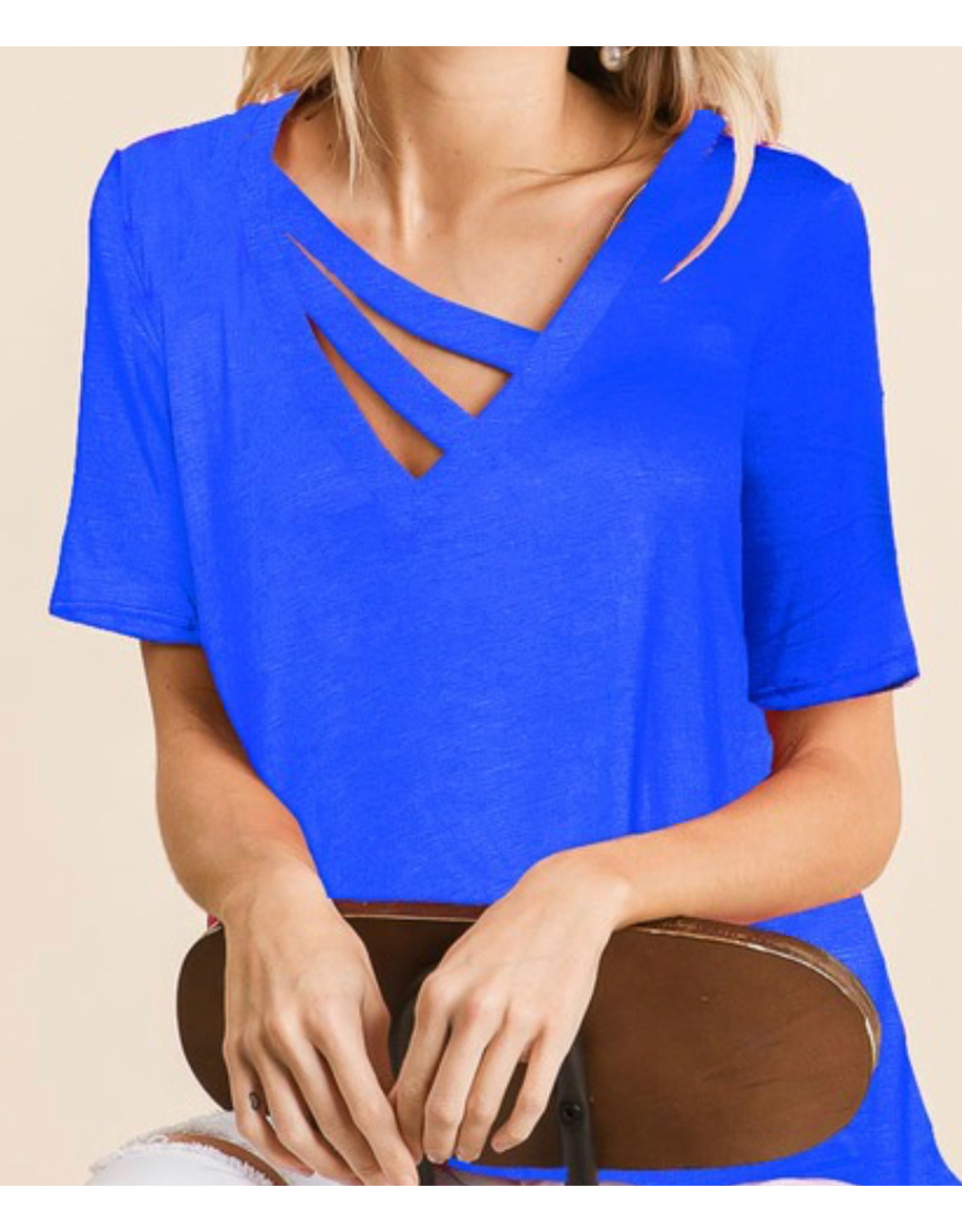 LATA Darling Double Strap Tee