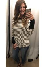 LATA Black Stripe Top