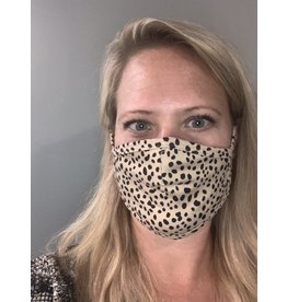 LATA Cheetah Face Mask