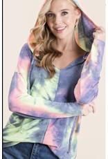 LATA Favorite Tie Dye Hoodie