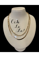 LATA Gold Chain Necklace