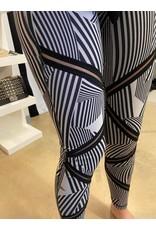 LATA Highwaist Optical Illusion Legging