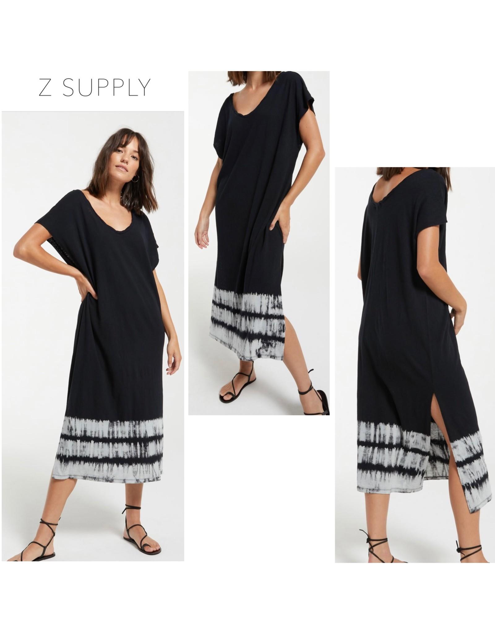 Z Supply Eden Stripe Tie Dye Dress