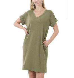 LATA V-Neck Dress