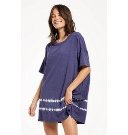 Z Supply Z SUPPLY Delta Dip Dye Dress- Dusty Navy