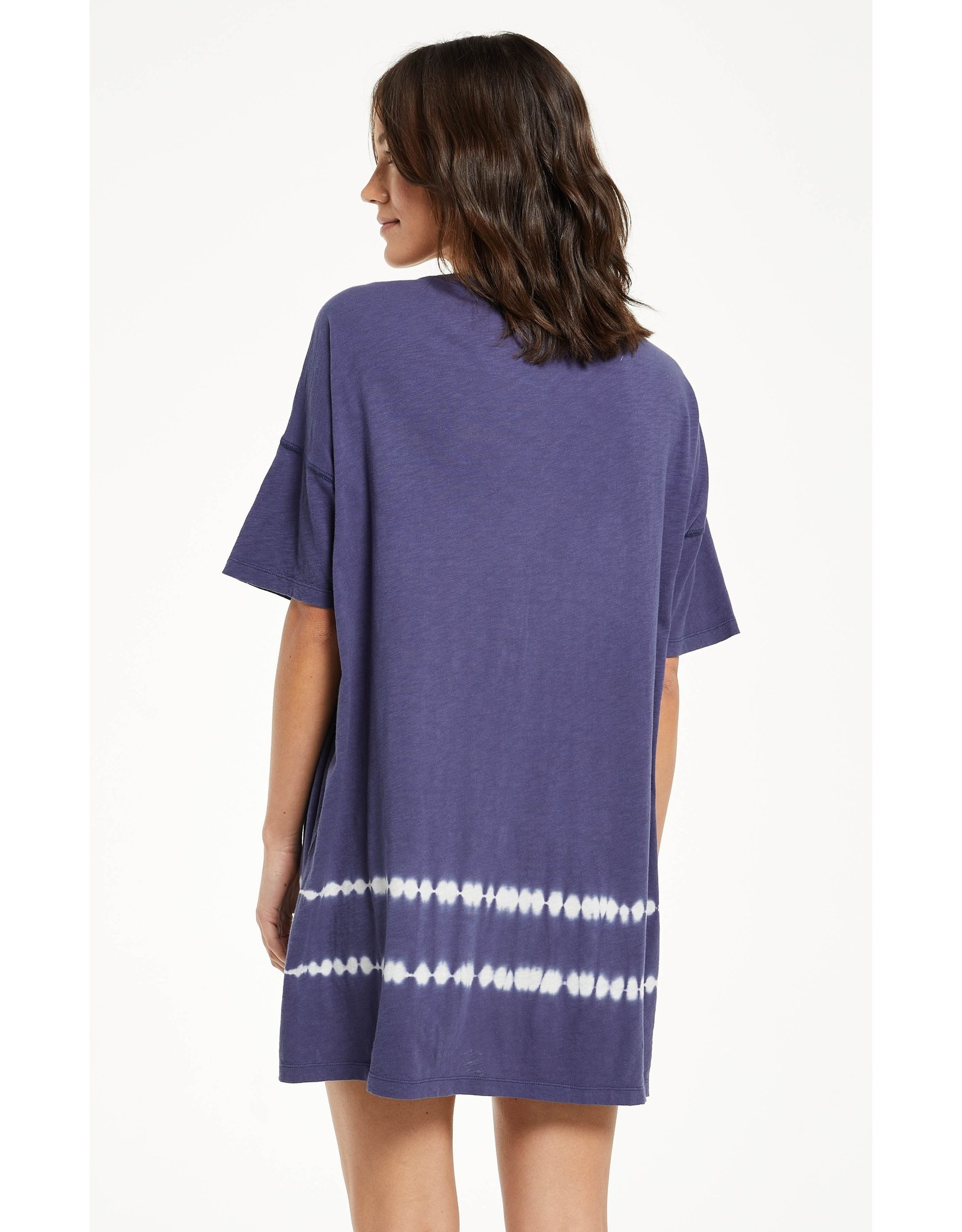 Z Supply Delta Dip Dye Dress- Dusty Navy