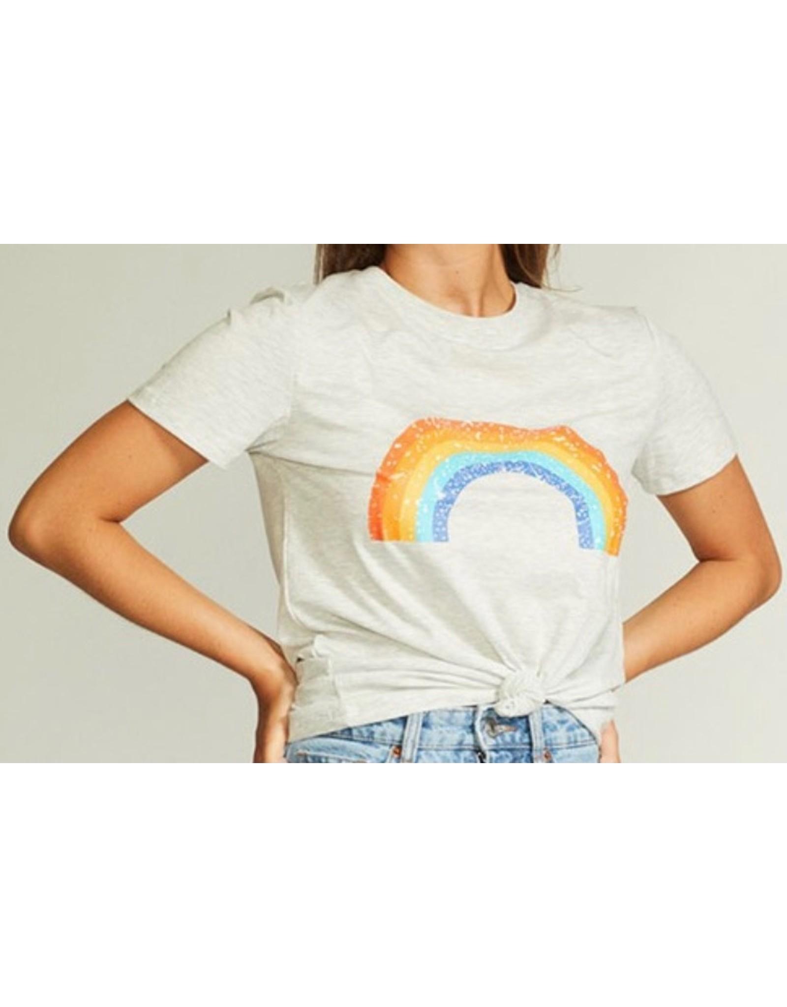 LATA Rainbow Graphic Tee