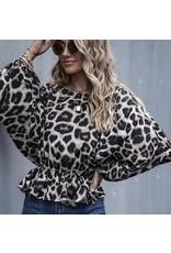 LATA Leopard Blouse