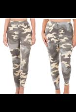 LATA Gray Camo Leggings