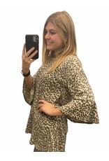 LATA Jungle Book Grey Leopard Tunic