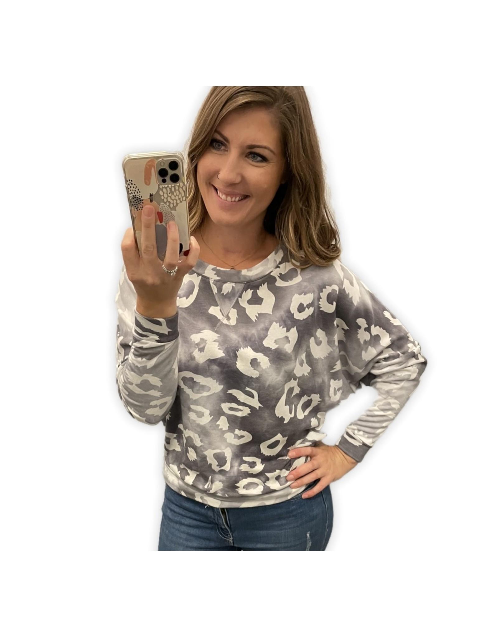 LATA Tie Dye w/ Leopard Print