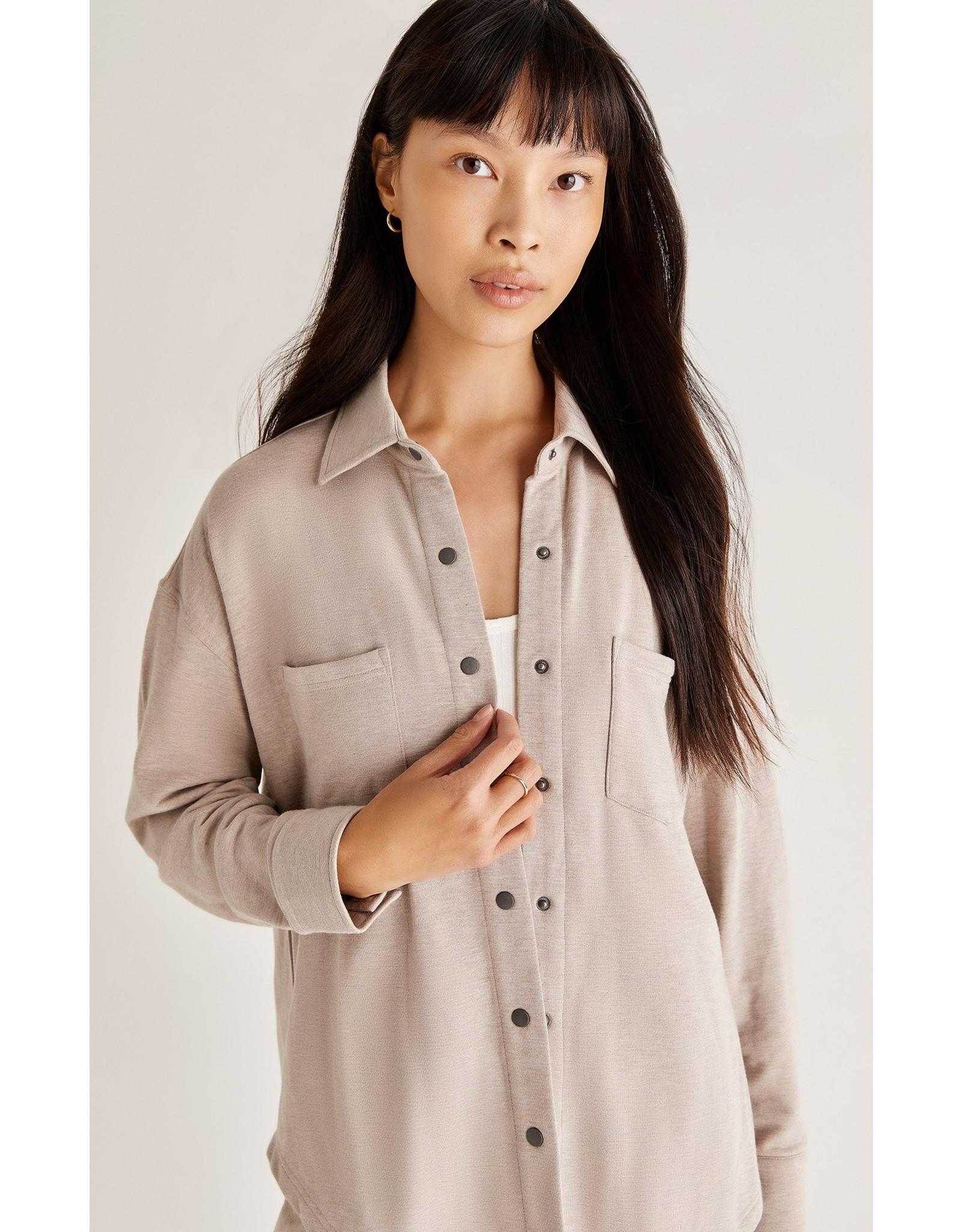 Z Supply ZSUPPLY WFH Modal Shirt Jacket
