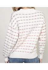 LATA Dotting Eyes Multicolor Sweater