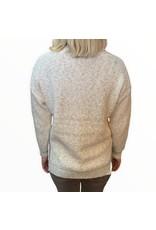 LATA Fall Festival Oversized V-Neck Sweater