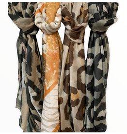 LATA Printed Fall Fashion Scarf