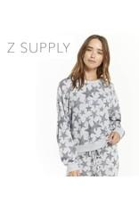 Z Supply Z SUPPLY Melia Camo Star Slub Top