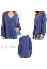 Z Supply Z SUPPLY Plira Marled V-Neck Pullover