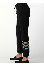 LATA Over The Rainbow Sweatpants