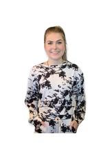 LATA Cookies N' Cream Tie Dye Sweatshirt