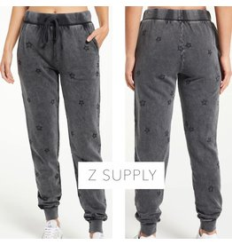 Z Supply Z Supply Goldie Embroidered Star Jogger
