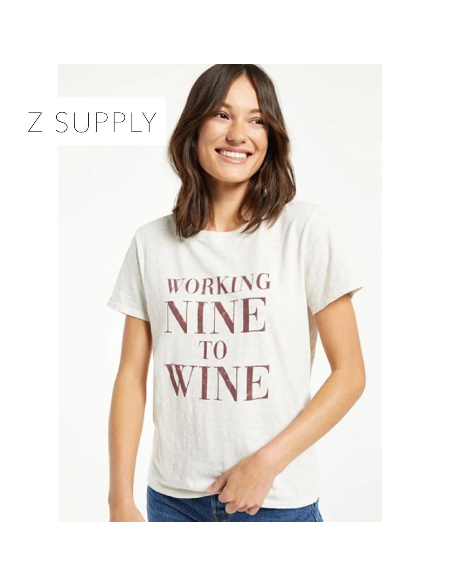 Z Supply Z Supply Easy Wine Tee