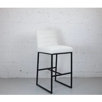 Turner Faux Suede Barstool