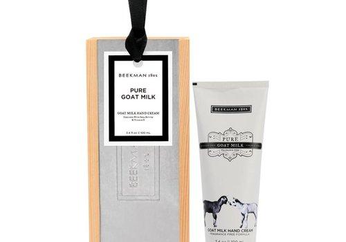 BEEKMAN Pure Goat Milk Hand Cream 3.4oz