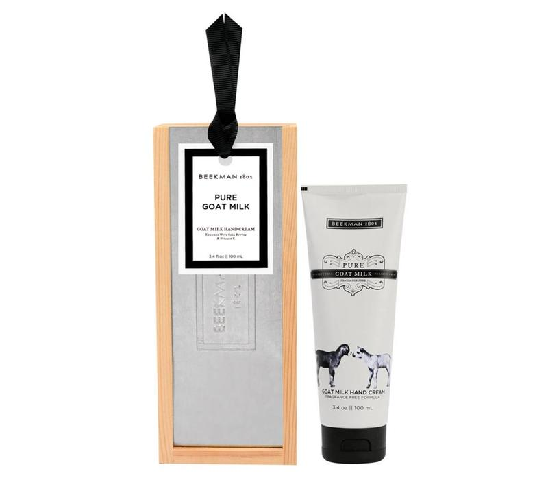 Pure Goat Milk Hand Cream 3.4oz