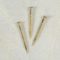 Gold Plated Forged Iron Nail