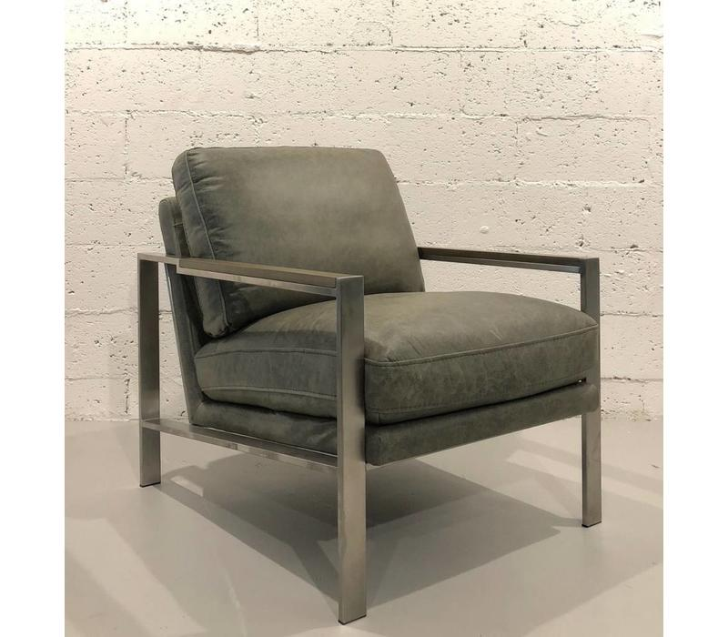 Alexander Sage Leather Accent Chair