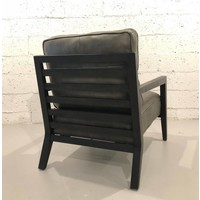 Staniel Mink Leather Accent Chair